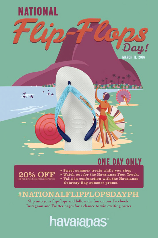 CELEBRATE NATIONAL FLIP-FLOPS DAY WITH HAVAIANAS!