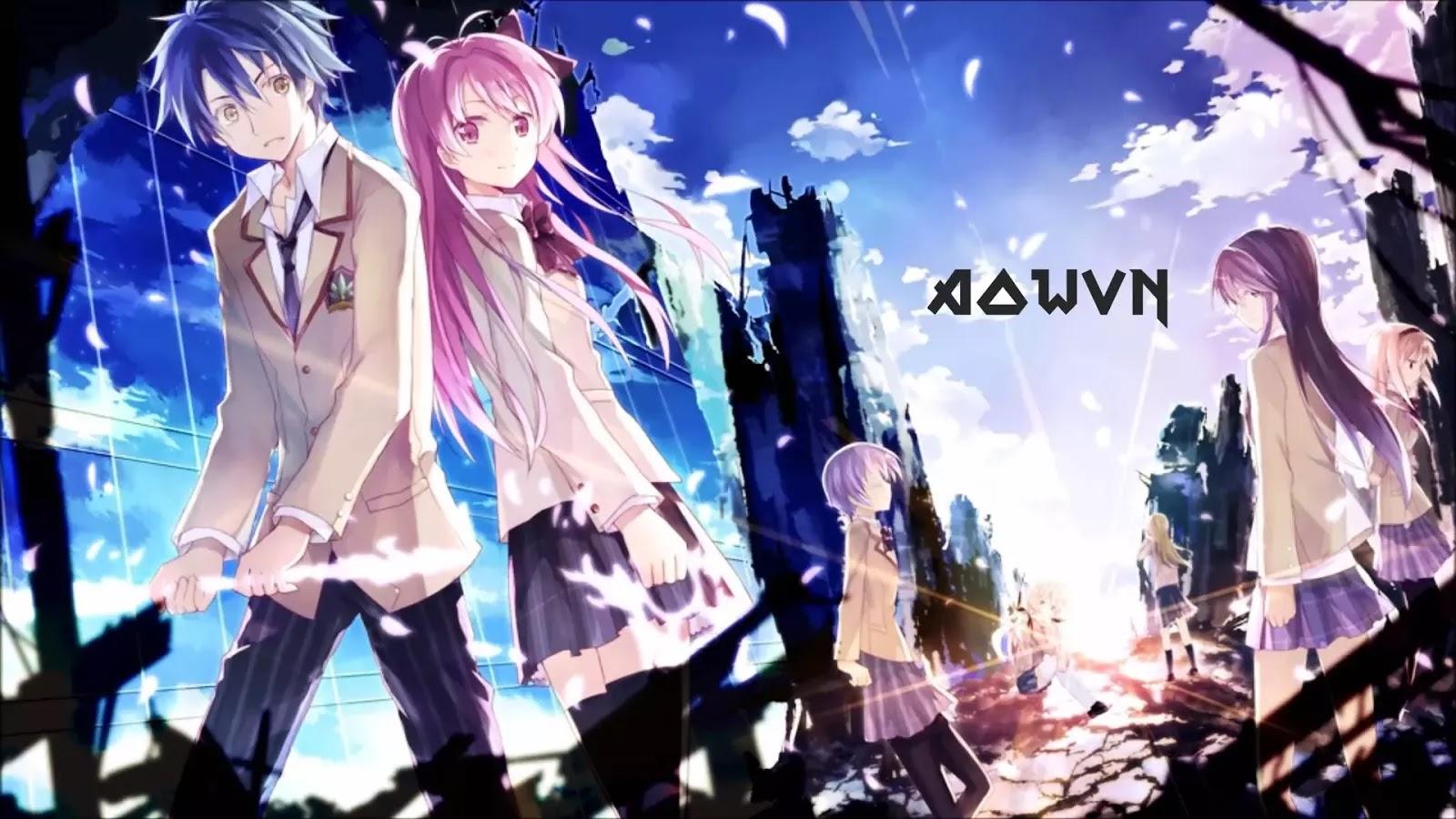 AowVN%2B%25281%2529 - [ Anime 3gp Mp4 ] Chaos;Head BD | Vietsub