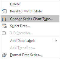 excel change series chart type