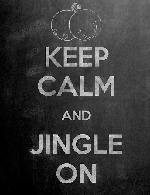 """Keep Calm and Jingle On"" Printable by Sweet C's Designs for Serenity Now blog"