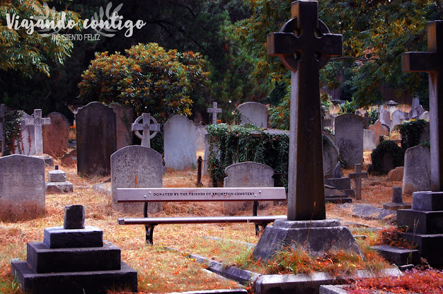 Cementerio de Old Brompton (Londres) Necroturismo
