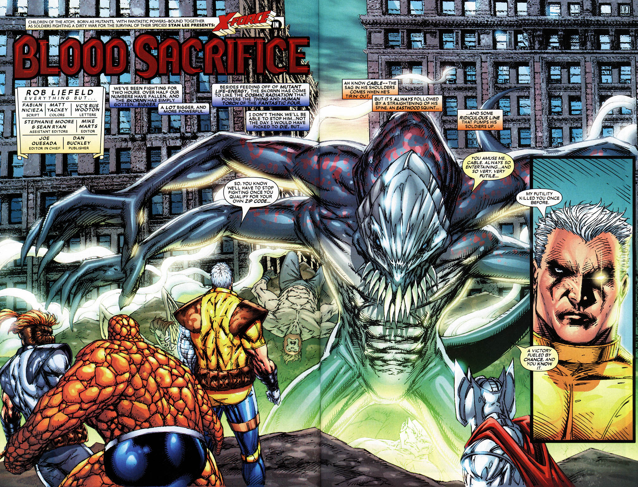 Read online X-Force (2004) comic -  Issue #6 - 4