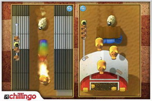 Sheeple Chase iPhone racing game available for download