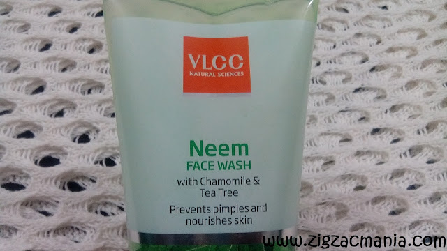 VLCC Neem Face Wash: Shelf life