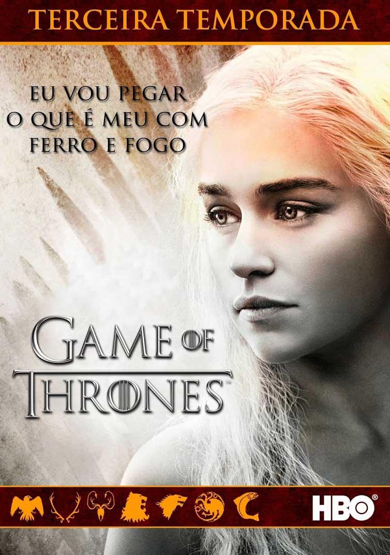 Game Of Thrones 3ª Temporada Torrent - BluRay 720p Dual Áudio