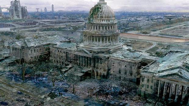 ciudad capitolio destruido
