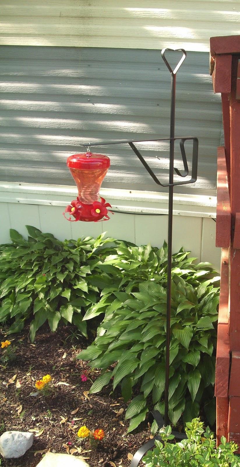 Silentcrazystars Hummingbird Feeder Stand