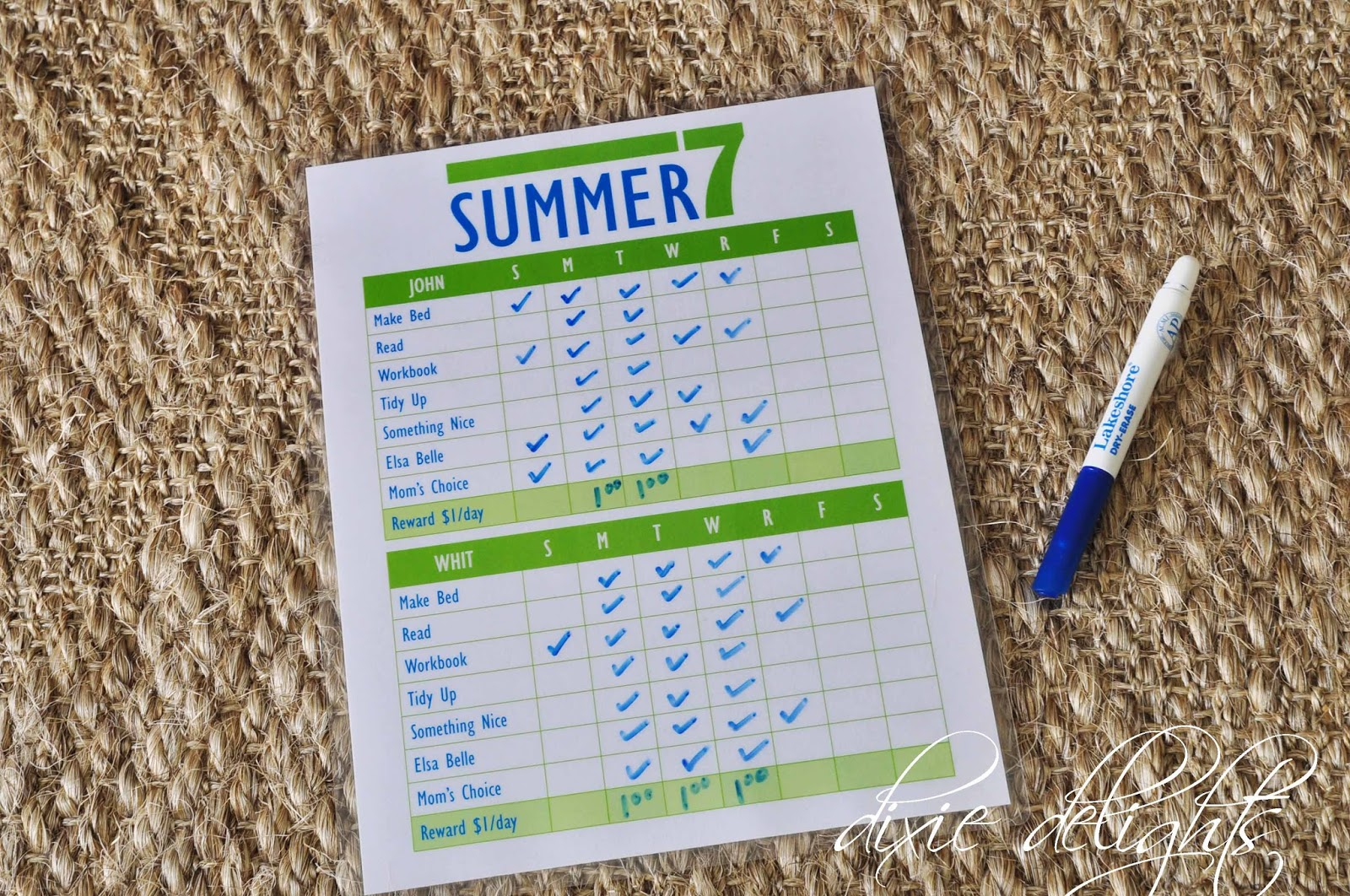 image about Have a Ball This Summer Free Printable referred to as Summer time 7 Cost-free Printable Dixie Delights