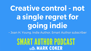 "image reads:  ""Creative control - not a single regret for going indie"""