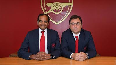 Raul Sanllehi and Vinai Venkatesham