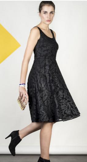robe Rushi  Les couleurs du noir