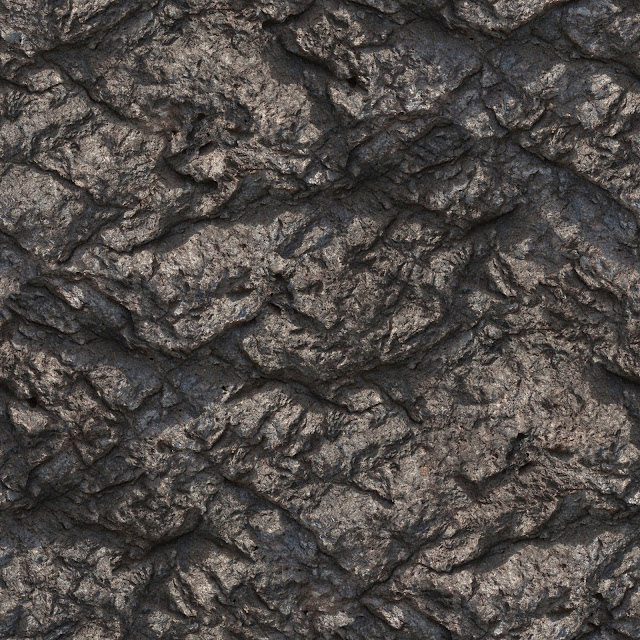 Seamless Mountain Rock Face Texture