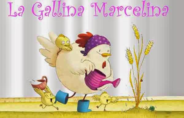 La Gallina Marcelina    cuentos para niños