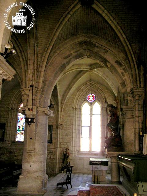 SAINT-WANDRILLE-RANCON (76) - Eglise Saint-Michel (XIIe-XVIe siècles)