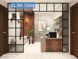 Căn hộ 123m2 tòa nhà Orchid 1 Hado Centrosa Garden Quận 10 cho thuê