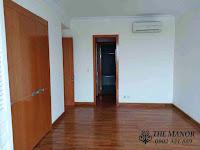 Chung cư The Manor 1 tầng thấp bán hoặc cho thuê nhà trống | không gian phòng ngủ không nội thất