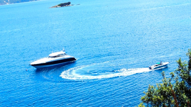 Skiathos sea