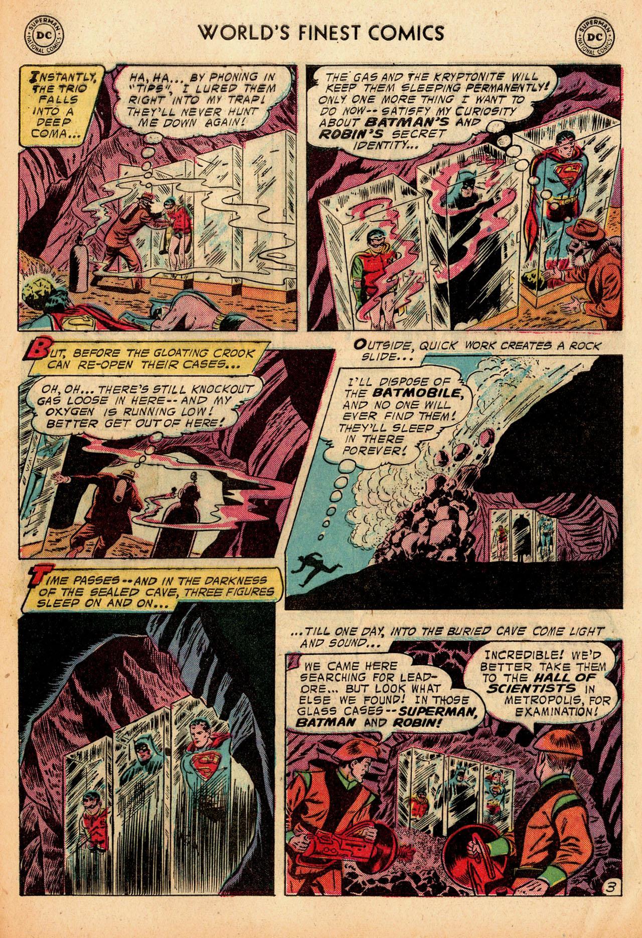 Read online World's Finest Comics comic -  Issue #91 - 5