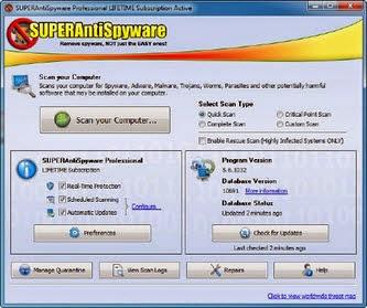 My Cracked Keys: SUPERAntiSpyware Professional 5 7 1026