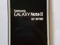 Cara Atasi Samsung Galaxy Note II LTE GT-N7105 Bootloop Bandel