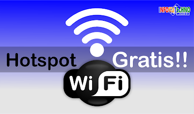 Trik mendapatkan Hotspot WiFi Internet grastisan Terbaru