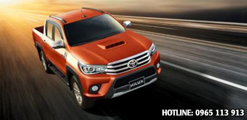 Toyota Hilux Revo an toàn