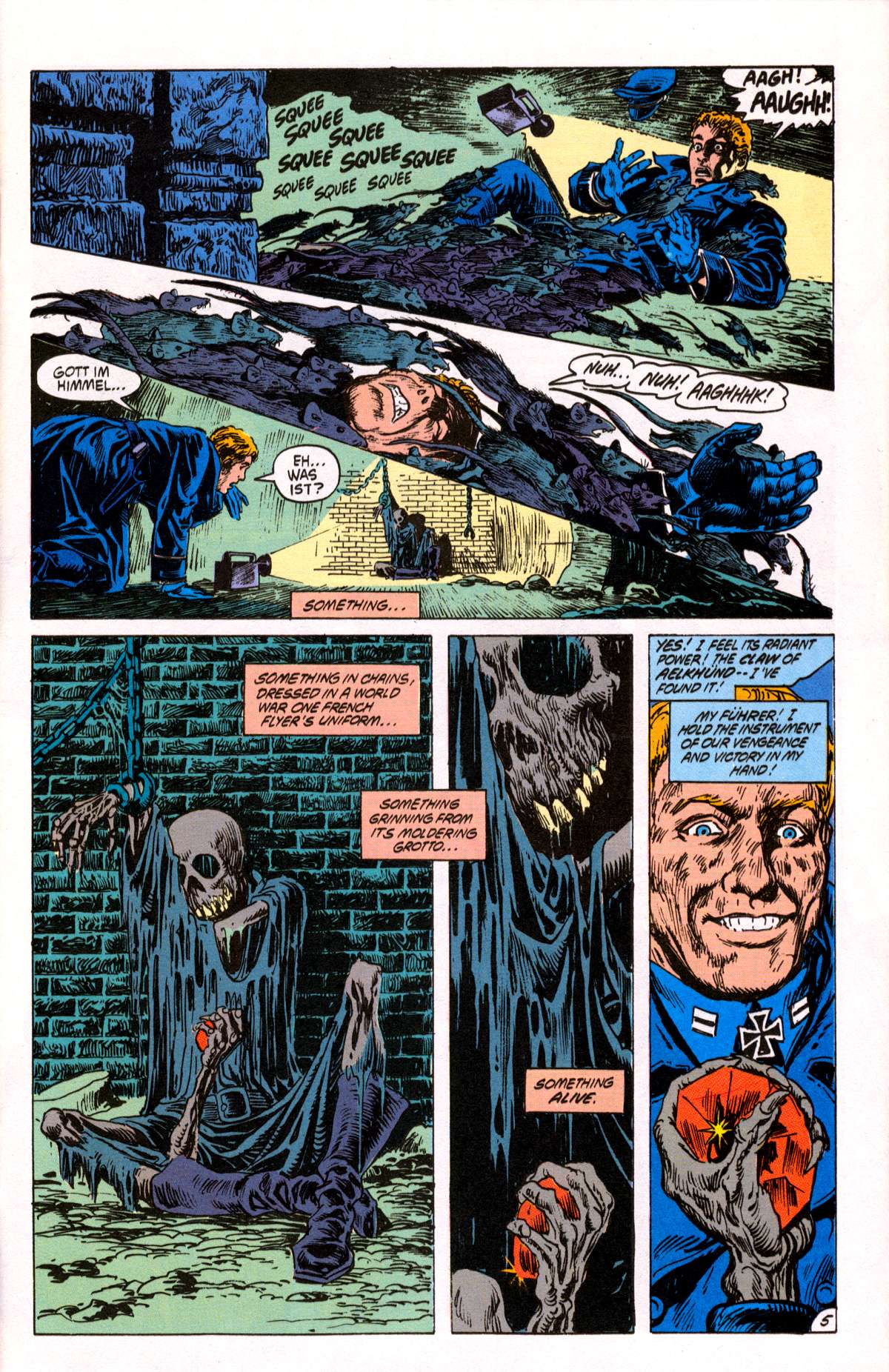 Swamp Thing (1982) Issue #82 #90 - English 6