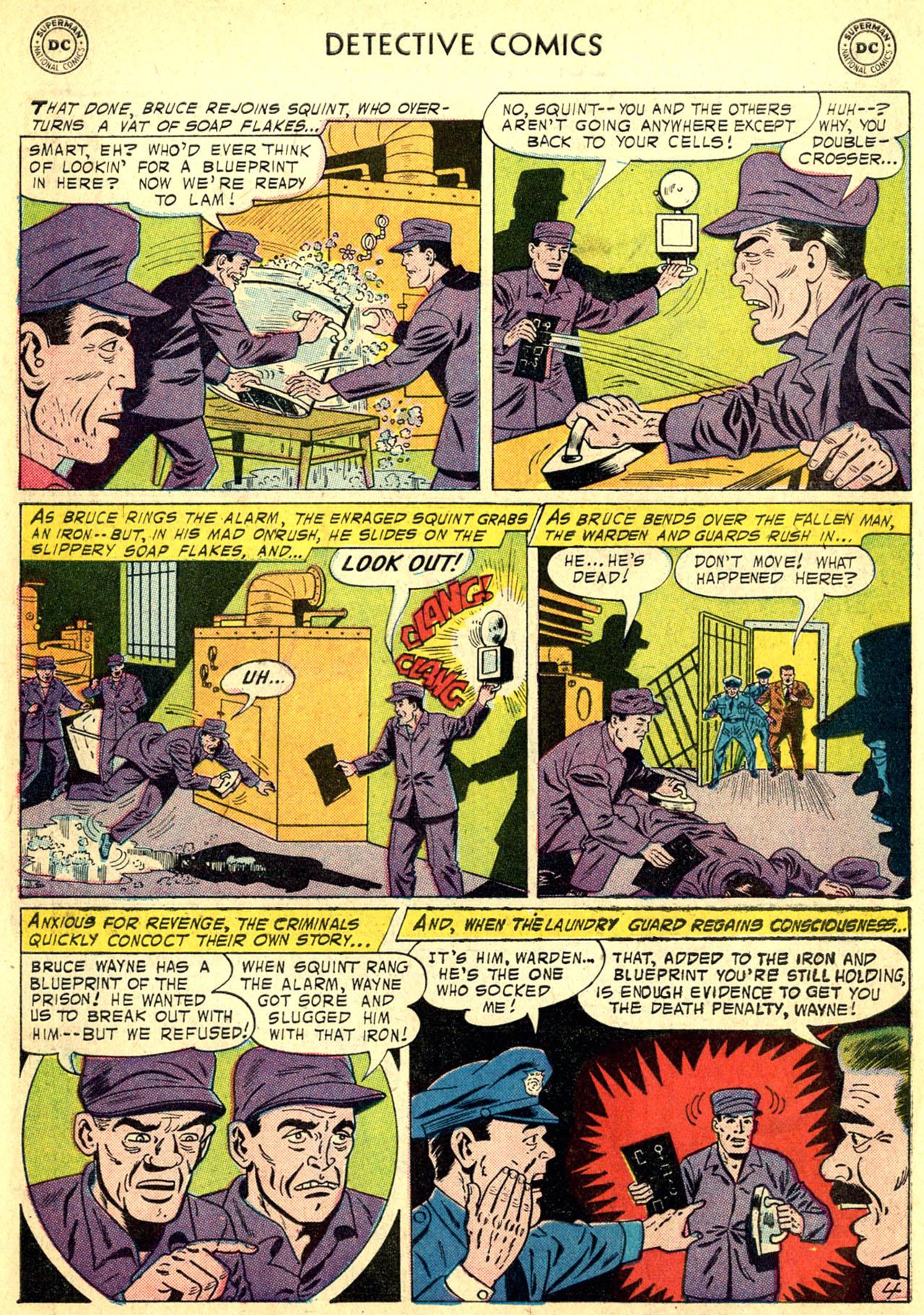 Read online Detective Comics (1937) comic -  Issue #249 - 6