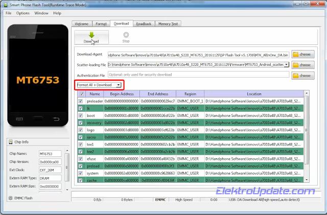 Flash Lenovo K4 A7010a48