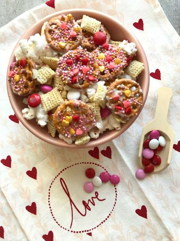 Valentine's Day Chex Snack Mix