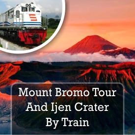 bromo by train