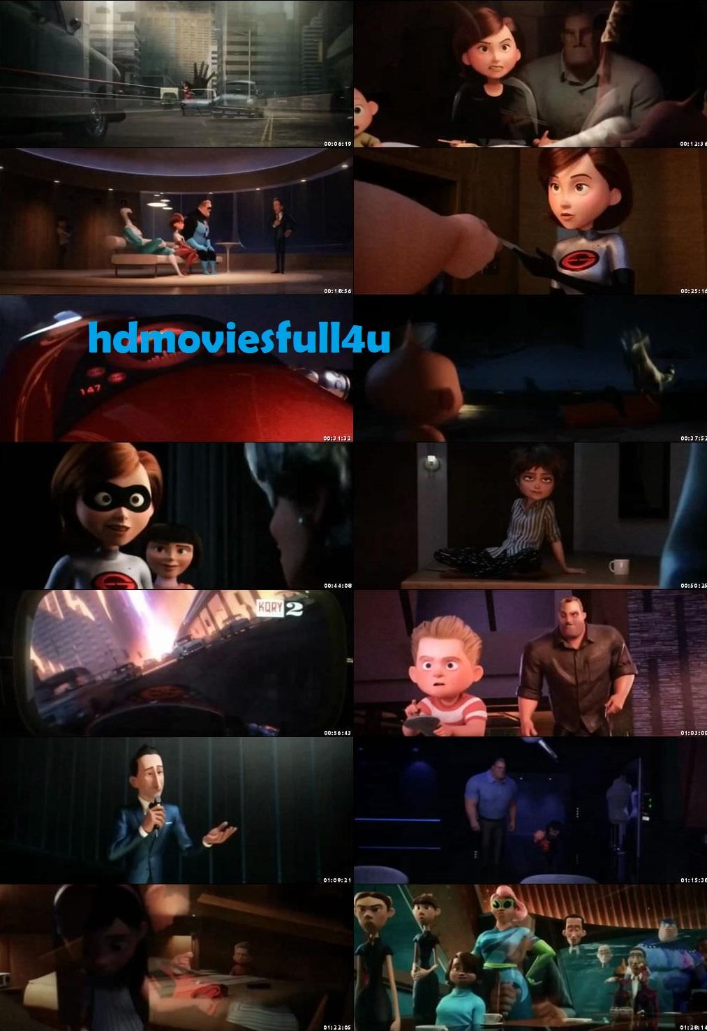Incredibles 2 (2018) movie 720p [1.1GB] - HDMoviesFull4u