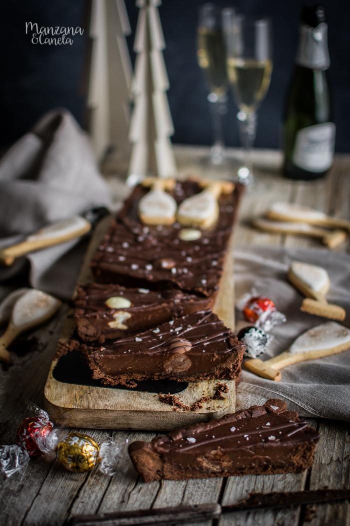 Tarta de chocolate y Champagne