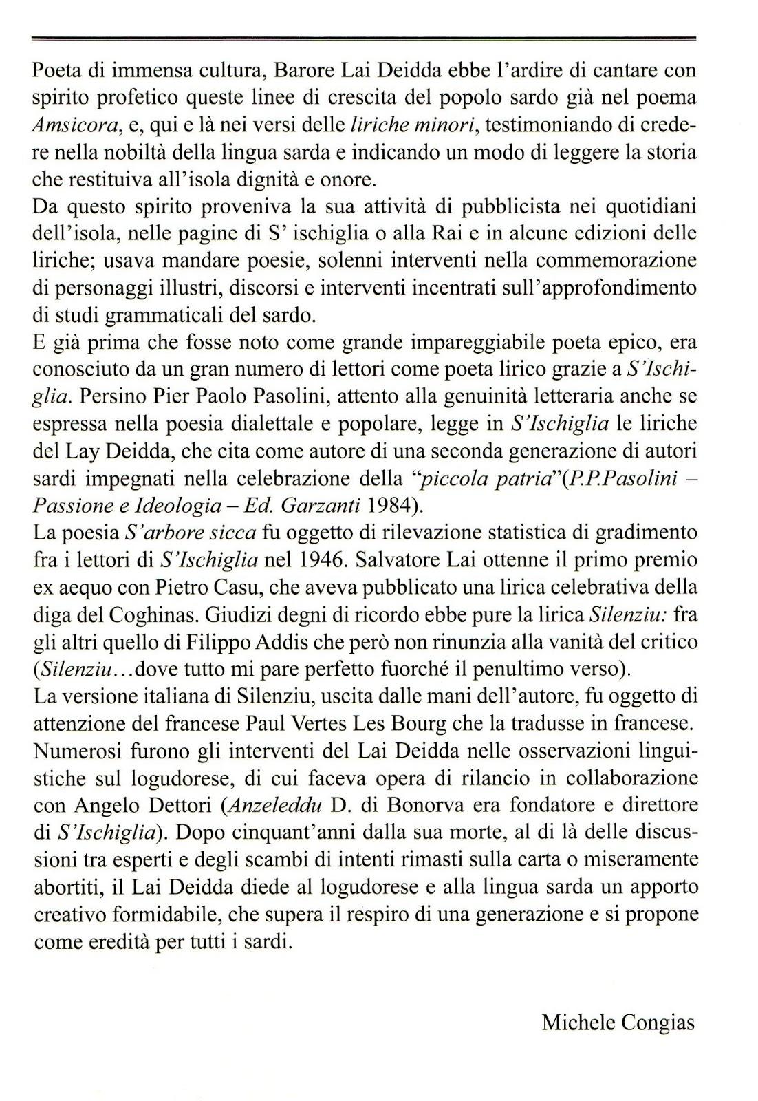 Tonara blog cantos de monte salvatore lai deidda a cura for Letter of interest for promotion template