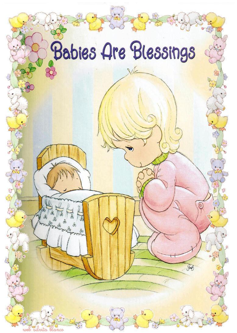 Sgblogosfera mar a jos arg eso babies precious moments - Laminas decorativas para pared ...