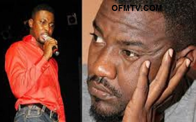 Comedian musician Kwame A Plus and Actor John Dumelo