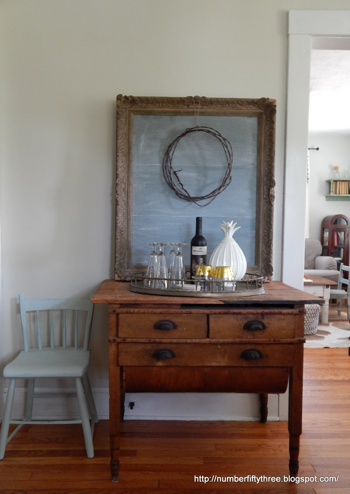 Genial Antique With Modern Bar Cart And More Dining Room Plans