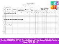 Download Contoh Program Kerja Tata Usaha 2015/2016