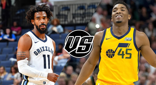 Live Streaming List: Memphis Grizzlies vs Utah Jazz 2018-2019 NBA Season