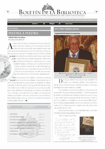 BOLETÍN DE LA BIBLIOTECA DE LA REAL SOCIEDAD ECONÓMICA AMIGOS DEL PAÍS DE BADAJOZ (RSEEAP)