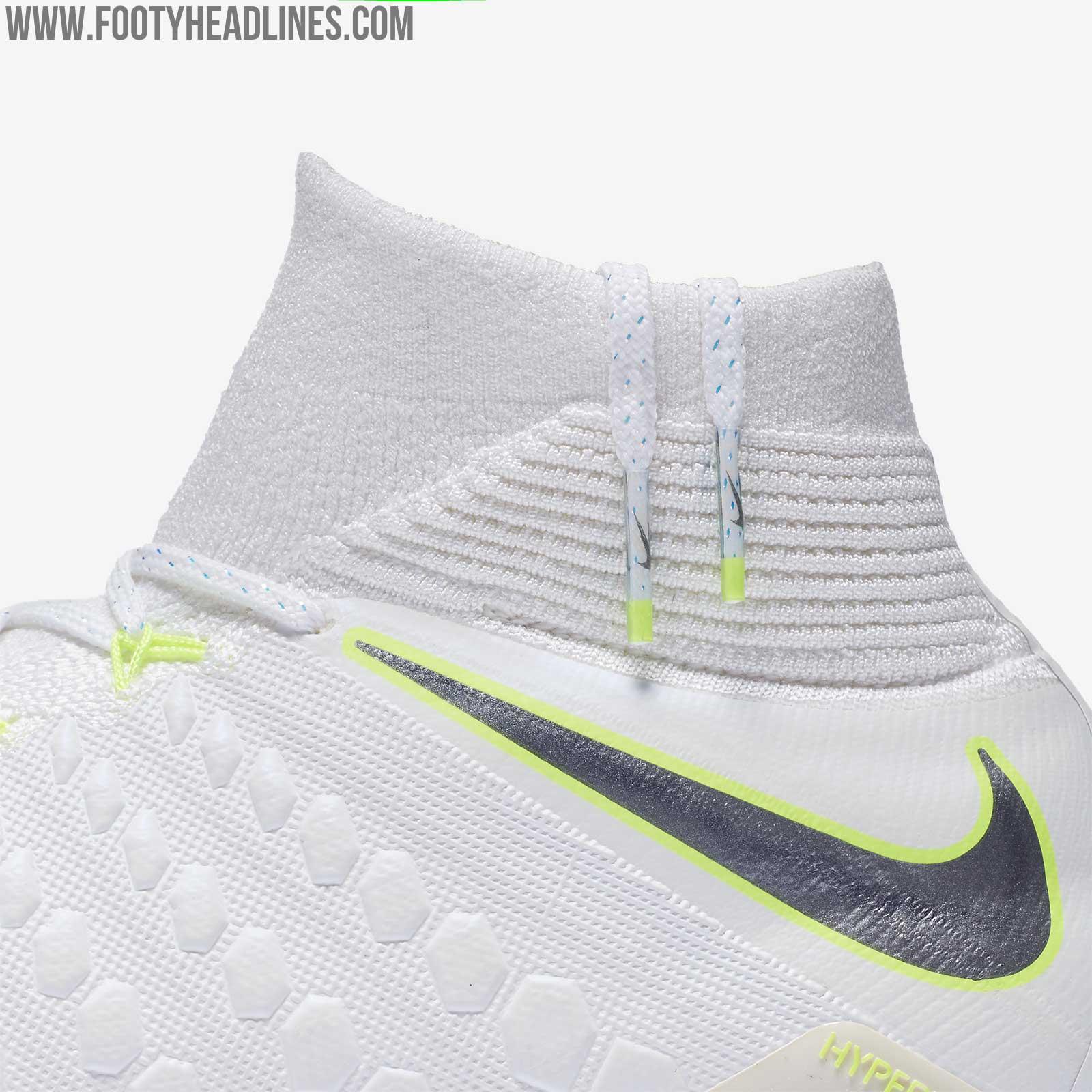 fc31c5c46200 Nike Hypervenom Phantom III DF - White   Metallic Silver   Volt