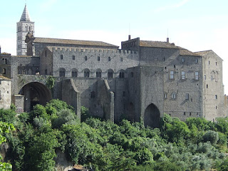 The impressive Palazzo dei Papi is among many  well-preserved medieval buildings in Viterbo