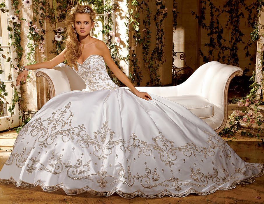 Cinderella Ball Gown Wedding Dresses