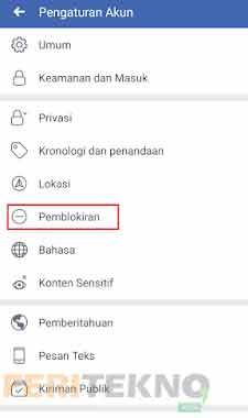 cara membuka status blokir pada facebook 3