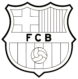 coloring pages barcelona fc fixtures - photo#16