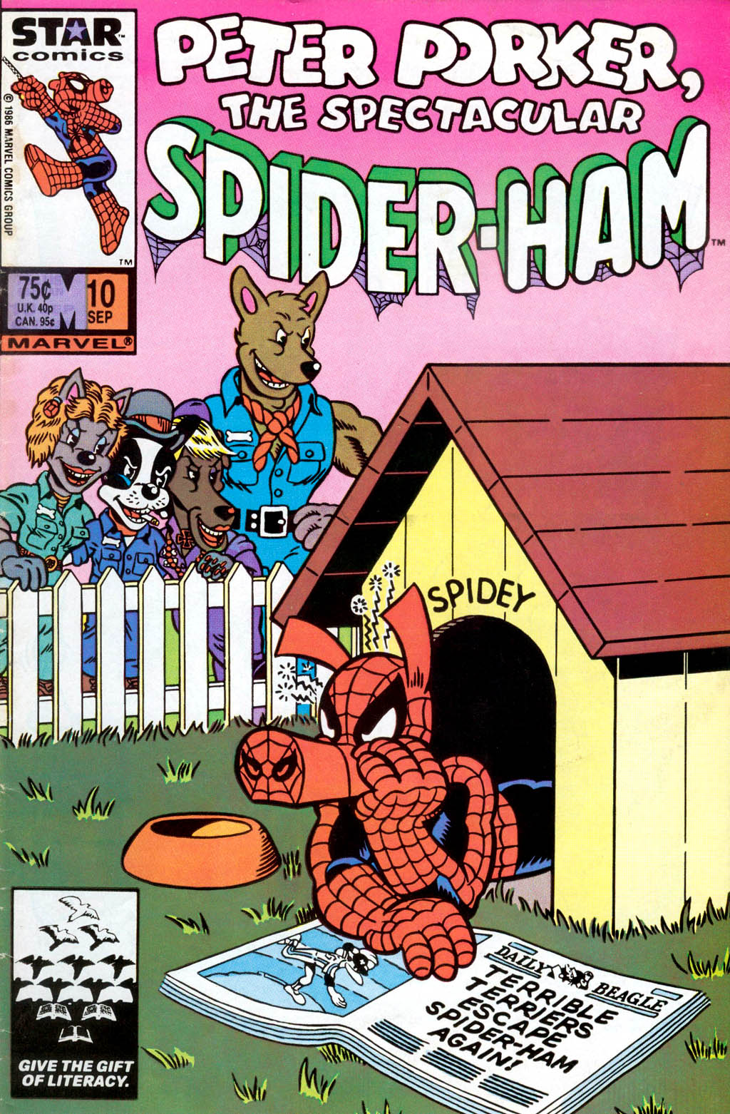 Peter Porker, The Spectacular Spider-Ham issue 10 - Page 1