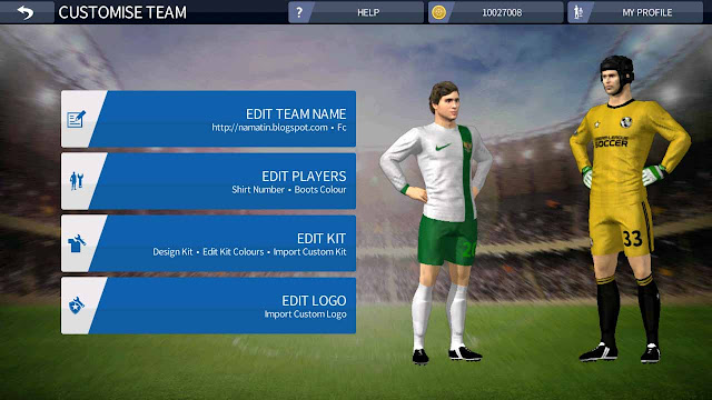 jersey dream league soccer timnas indonesia official