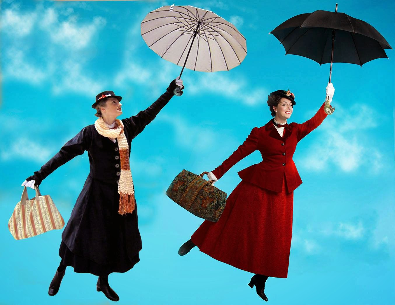 DIY Mary Poppins Kostume