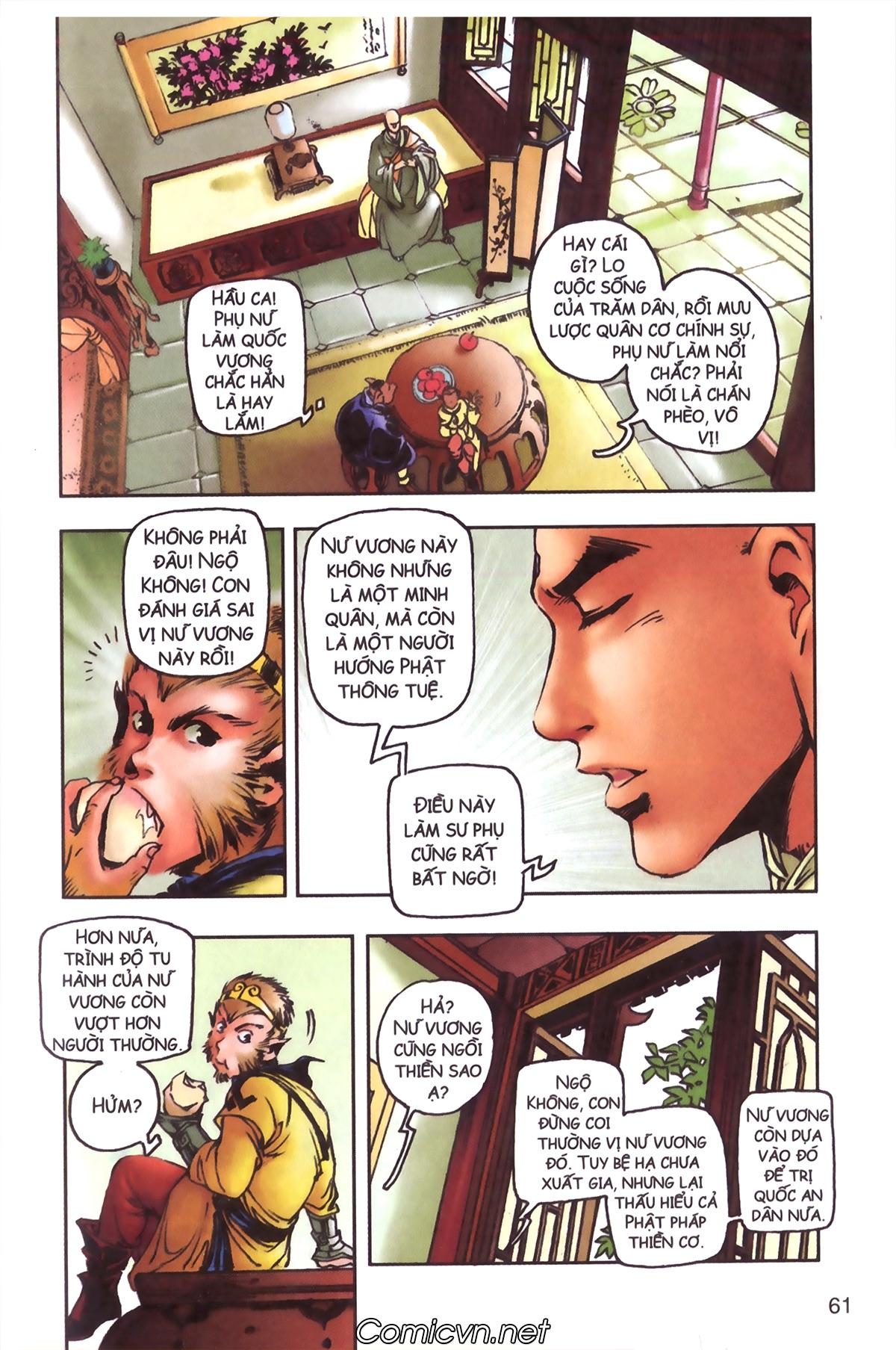Tây Du Ký màu - Chapter 97 - Pic 31