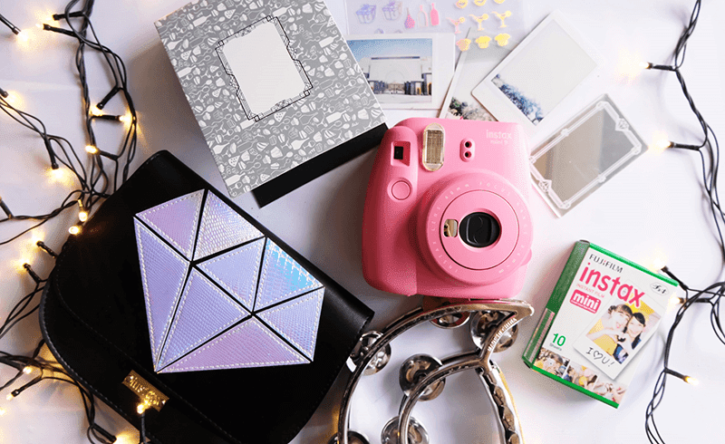 Fujifilm instax Mini 9 Ginza Package is priced at PHP 4,499